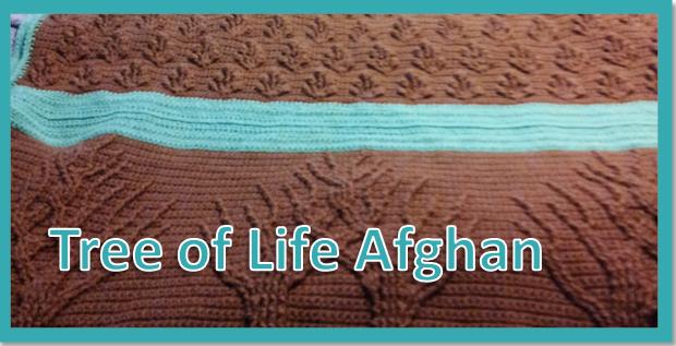 Tree of Life Afghan |